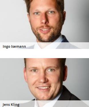 Ingo Isemann & Jens Kling Bankkaufmann