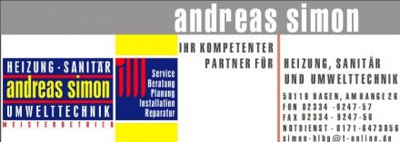 Andreas Simon Visitenkarte