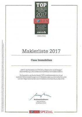 Focus Urkunde 2017v2